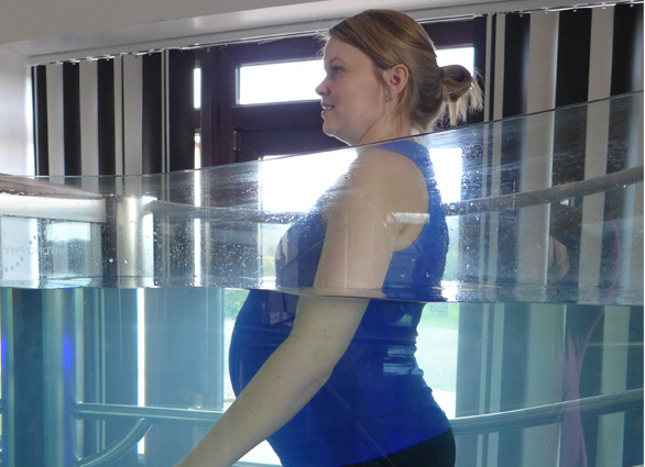 Lifestyle Treadmill Patient